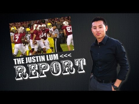 #TheJustinLumReport - Tyler Gaffney rushed for a Stanford Football record of 45 carries