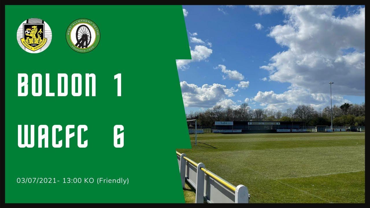 Boldon CA 1 - 6 West Allotment Celtic