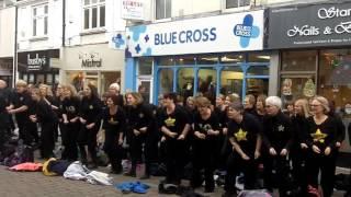 Newbury Town Centre Flashmob (Newbury, Speen & Thatcham Rock Choir