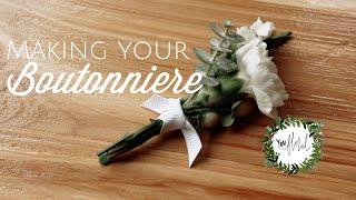 DIY - Making A Boutonniere