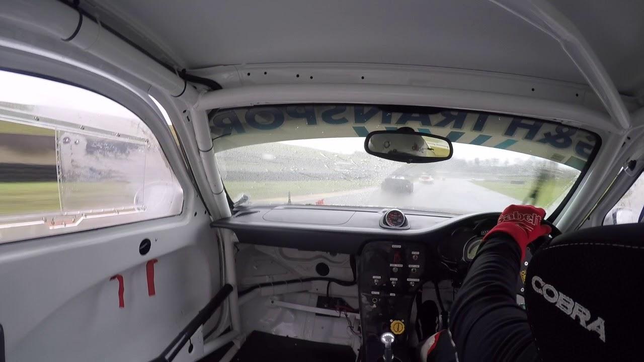 Scuderia Scribante Porsche 997T. Zwartkops Raceway 25-11-2017, Race 2 - Extremely Wet and My Crash.