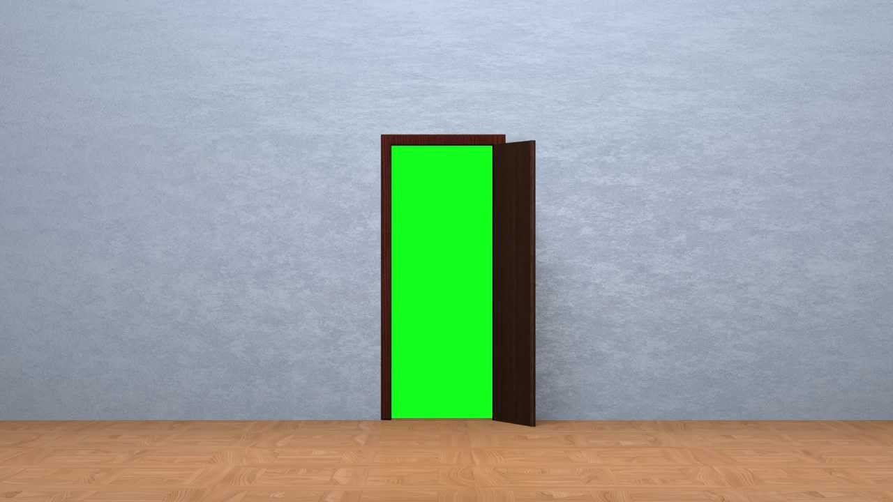 Door opening green screen fhd youtube for Screen for door that opens out