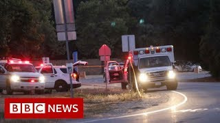 Garlic festival shooting: Three dead in Gilroy California - BBC News