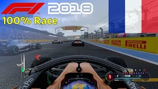 F1 2018 - Now We Can Fight With Fernando #8: 100% Race France