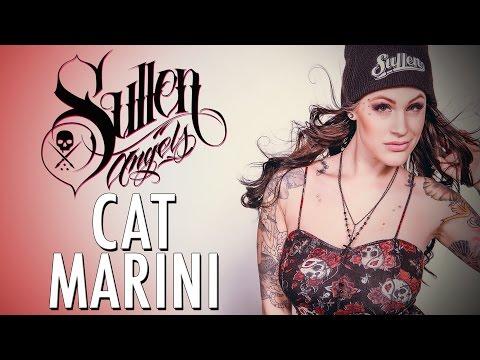 Cat Marini Sullen Angel Shoot with Nicole Caldwell
