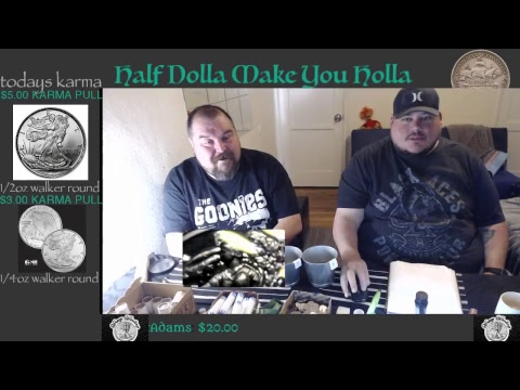 WEDNESDAY NIGHT SILVER HUNT & MAIL TIME!!!