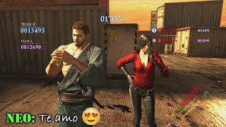 Resident Evil 6 Survivors PS4 *#FUNNY & COOL MOMENTS COMPILATION 1#*