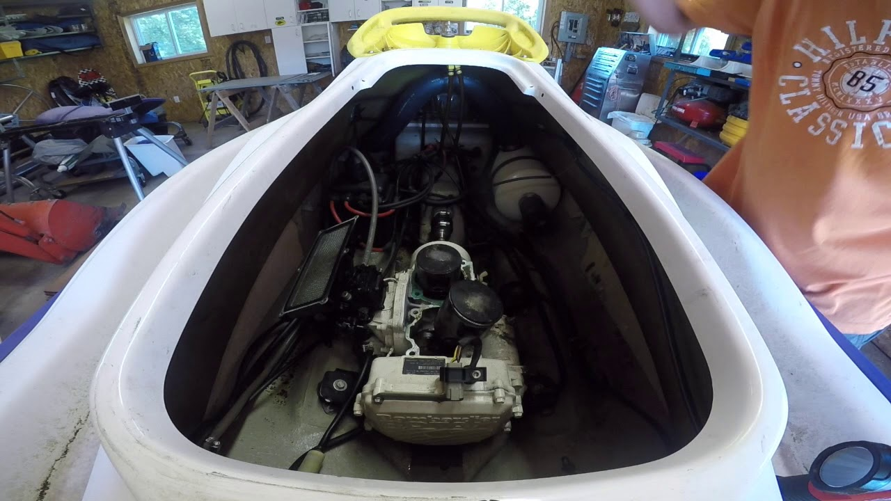 Seadoo 720 Gs Engine Removal