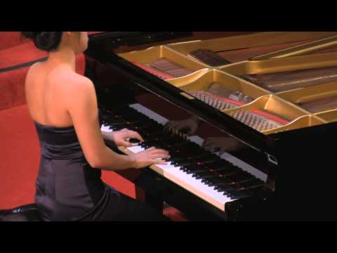 Hilda Huang, piano performs: JS Bach Italian Concerto, BWV 971