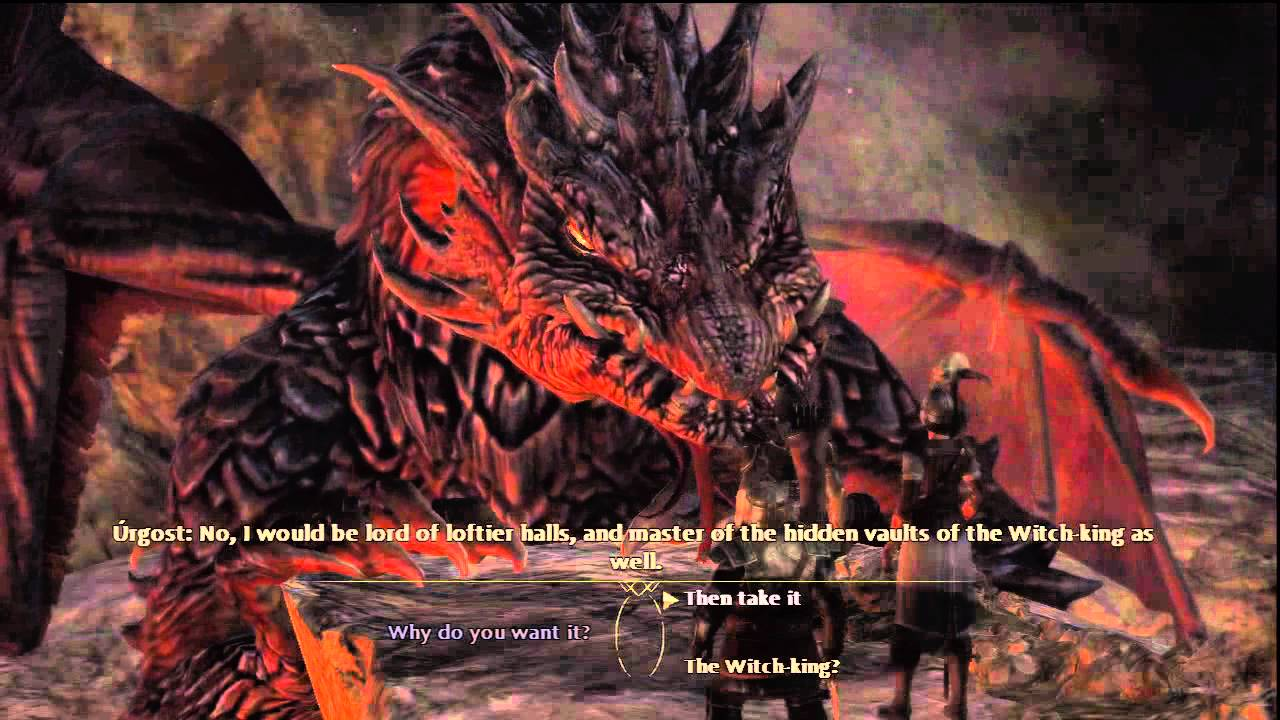 lord of the rings war in the north part 46 dragons den youtube