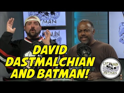 DAVID DASTMALCHIAN AND BATMAN!
