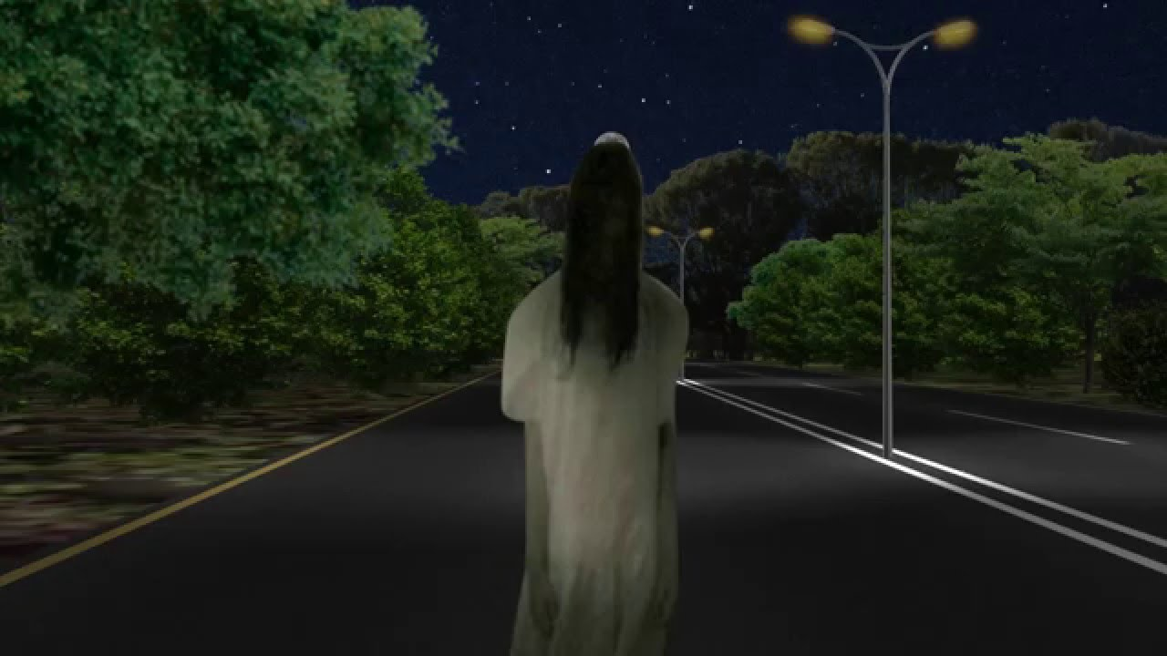 Image result for ghost on road