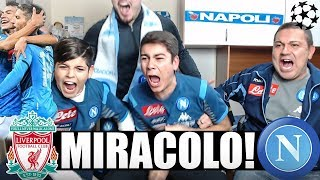 MIRACOLO!! LIVERPOOL-NAPOLI 1-1 | LIVE REACTION NAPOLETANI