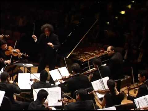Brahms Piano Concerto No  2 mov 4 Gerstein Dudamel Simon  Bolivar Youth Orchestra