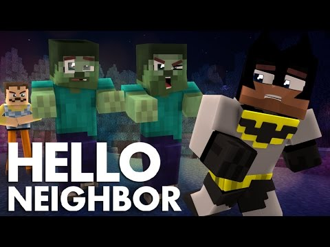 Minecraft Hello Neighbor - The Neighbor Zombie Takeover (Minecraft Roleplay)