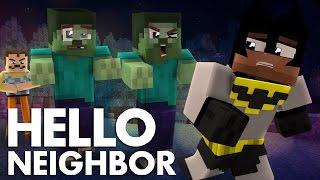 Minecraft Hello Neighbor - The Neighbor Zombie Takeover (Minecraft Roleplay)