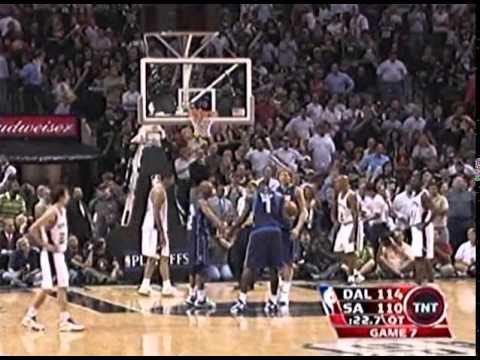 Round 2 Game 7 San Antonio  vs  Dallas NBA 2006 Playoffs 3