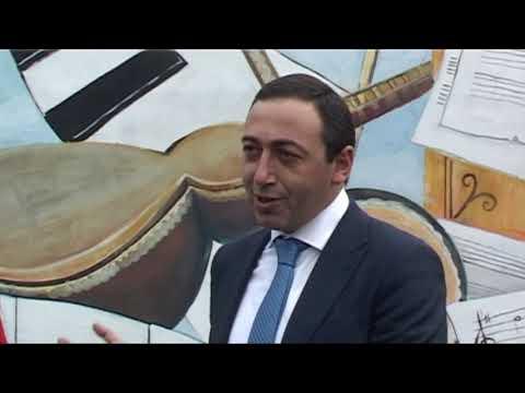 Երաժշտական պատ՝ Աբովյանում/ Erajshtakan pat Abovya