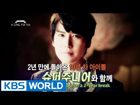 Global Request Show : A Song For You 3  Ep14 with Super Junior
