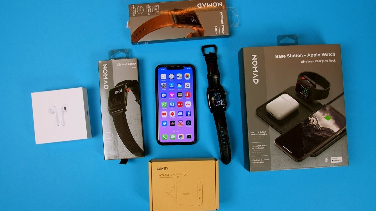 Best iPhone XS & Apple Watch Accessories 2018 (Giveaway)