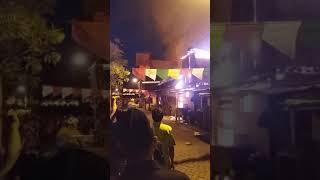 AKHIR dari kebakaran yg ditambak madu sby( 29-08-2017)
