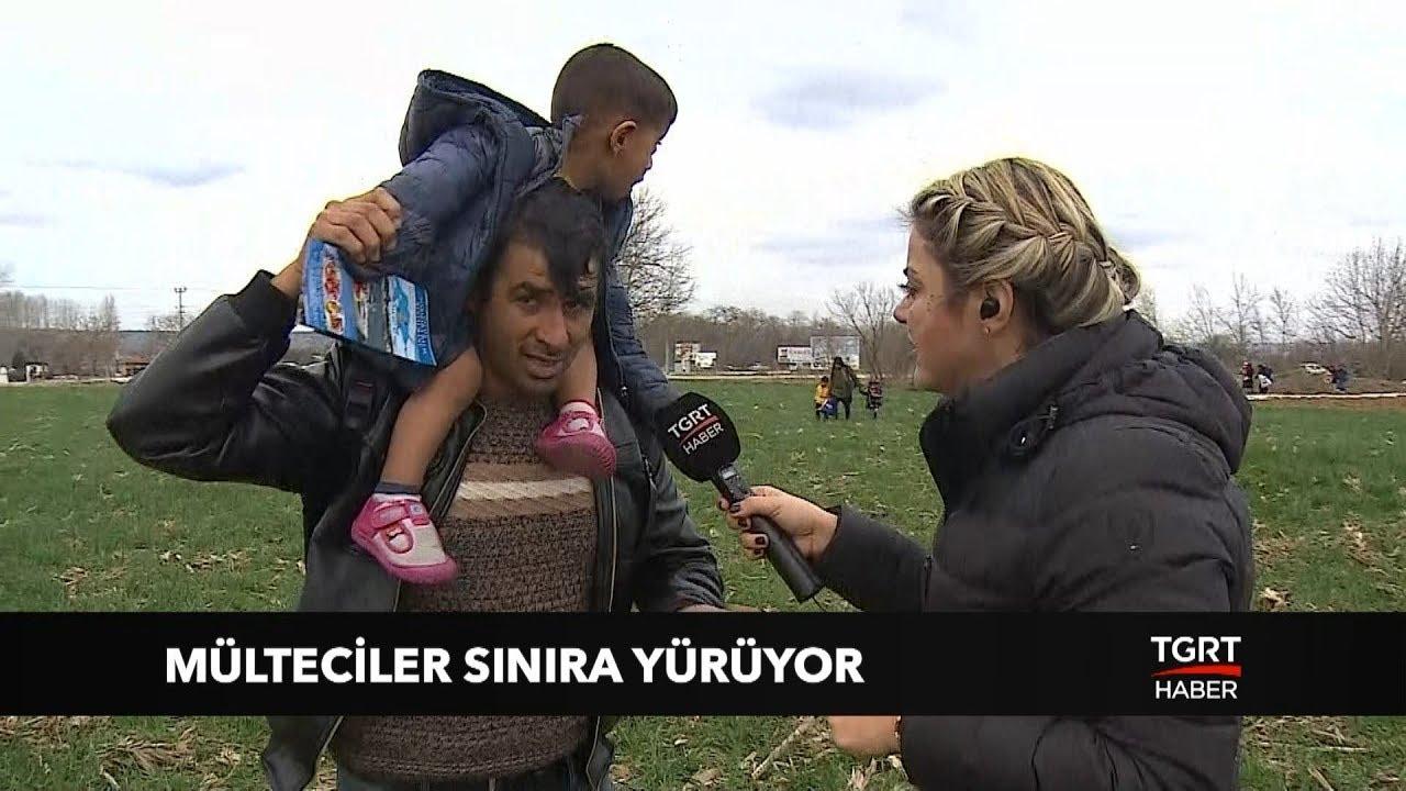 Türkiye Kapıları Açtı, Mülteciler Sınıra Yürüyor