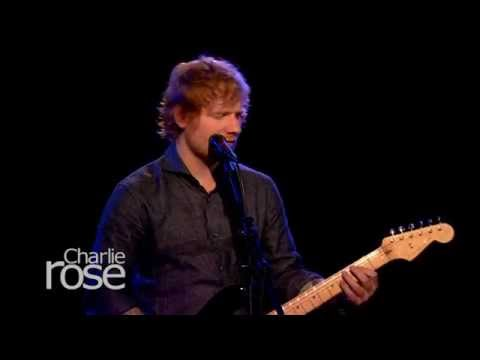 Ed Sheeran Performs 'Thinking Out Loud' (Oct. 2, 2015)   Charlie Rose
