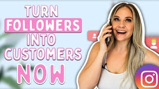 Turn Followers Into Customers NOW | Why You Need To Be Booking Discovery Calls