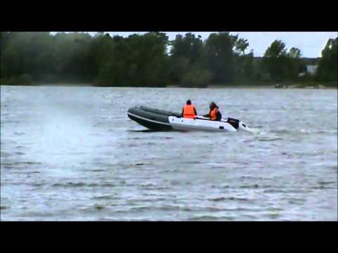 Аквилон (Aquilon) - надувная моторная лодка ПВХ с дном низкого давления (НДНД) 059