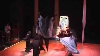 Black Madonna Spinning Dance