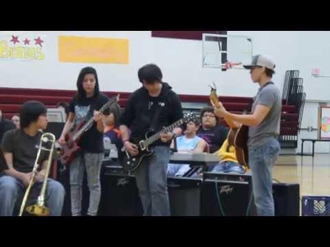Turtle Mountain Community High School Spring Concert 2015  Sleepwalk