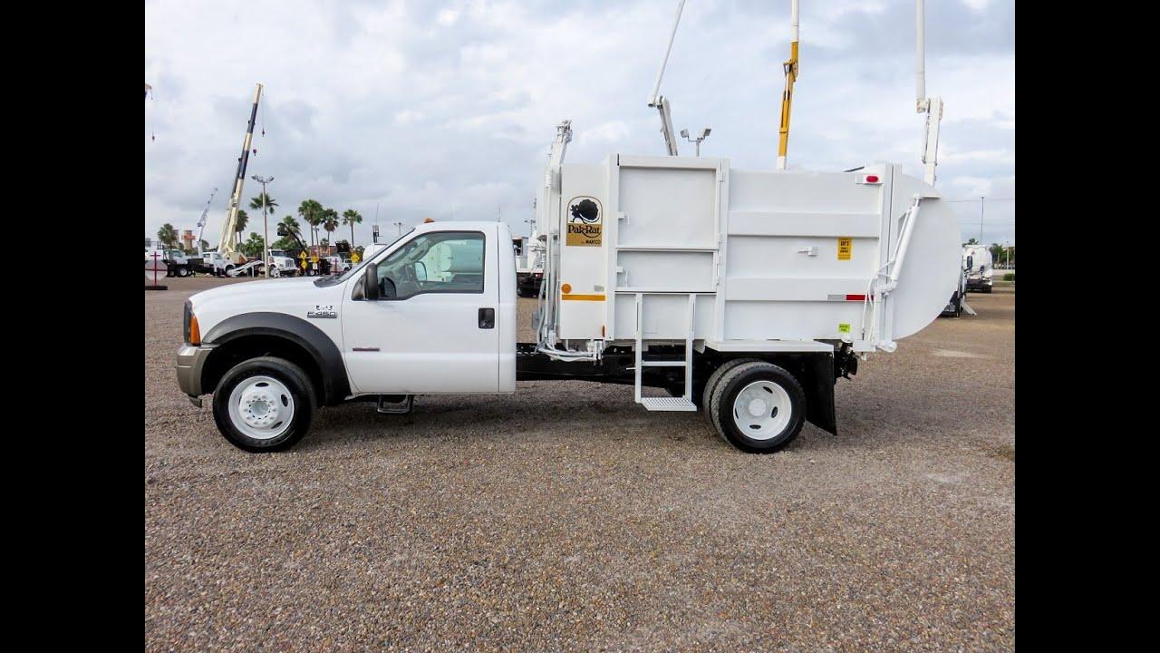 Art S Trucks Amp Equipment 3518445 07 Ford F450 Garbage