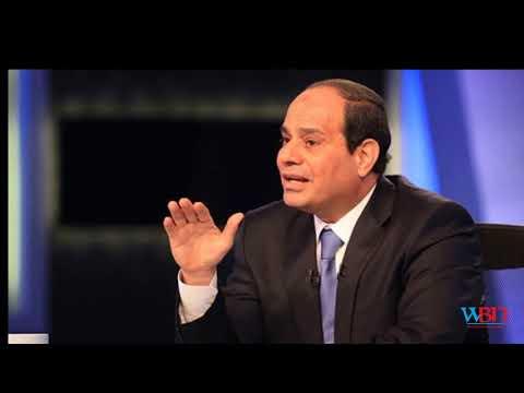 Field Marshal Sisi is sworn in as Egypt's new president