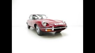 A UK Jaguar E-Type Series 2 4.2 2+2 FHC with a Warranted 15,715 Miles from New - SOLD!