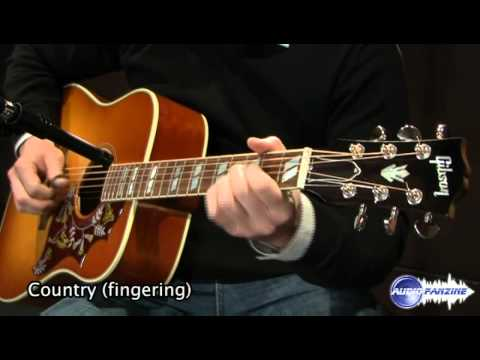 Gibson Hummingbird - How does it sound ?
