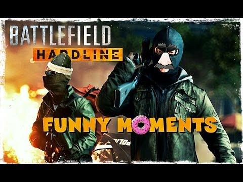 Battlefield Hardline / Funny Moments - Epic Bug's & Fail's MAAAAAD!!! [FUNTAGE!!]