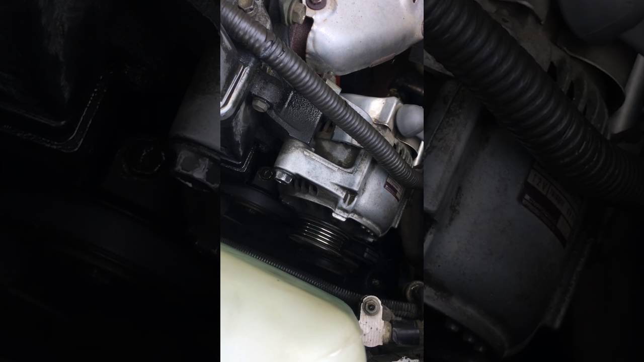 small resolution of 91 presents 91 96 corolla 3 belt change diy quick video tells everything