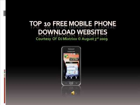 Top 10 Free Mobile Phone Download Sites