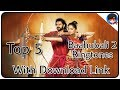 Top 5 Best Baahubali 2 Ringtones With Download Link Mp3