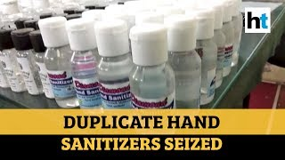 COVID-19: Three held for manufacturing duplicate hand sanitizers in Hyderabad