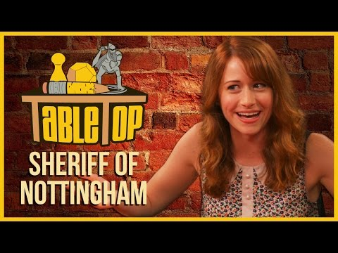 Sheriff of Nottingham: Ashley Clements, Derek Mio & Meredith Salenger on TableTop S03E07