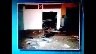 Bandidos Explodem Bradesco de Uraí- PR