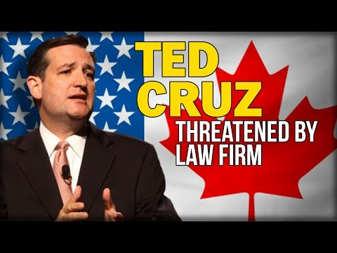 TED CRUZ THREATENED BY LAW FIRM: ADMIT YOU'RE A FRAUD OR WE'LL EXPOSE YOU AS ONE