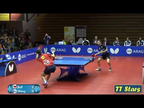 Timo BOLL vs  Wang CHUQIN (Germen League 2017/2018)