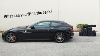 Is The Ferrari FF Practical? - What Fits?