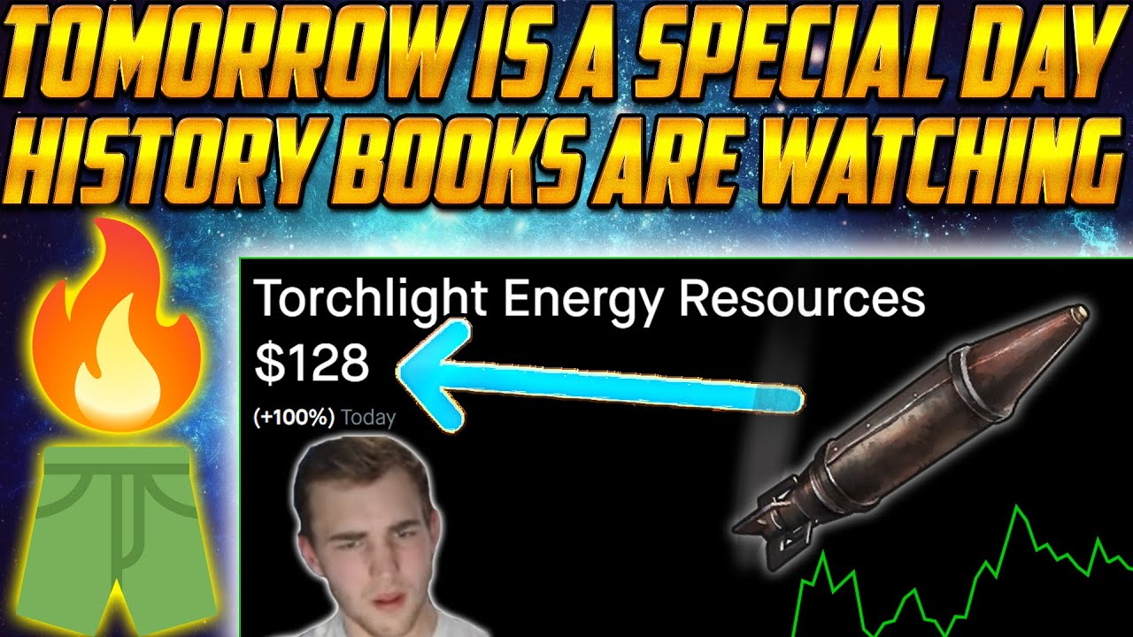 TRCH 😲 Tomorrow is a Special Day for Torch Stock! You need to know this 🔥