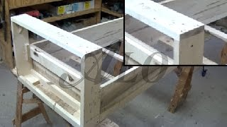 How To Build A Frame For A Bench - Aloworld