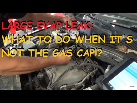 """GM """"P0455 Large EVAP Leak"""" - What To Check When It's Not The Gas Cap"""