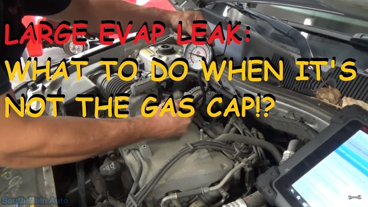 GM  P0455 Large EVAP Leak   What To Check When It s Not