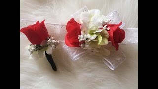 Repeat youtube video Easy | Cheap | D.I.Y | Corsage for Prom